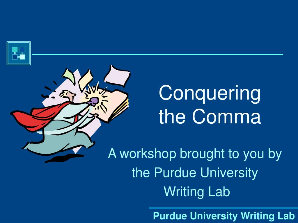conquering the comma l.
