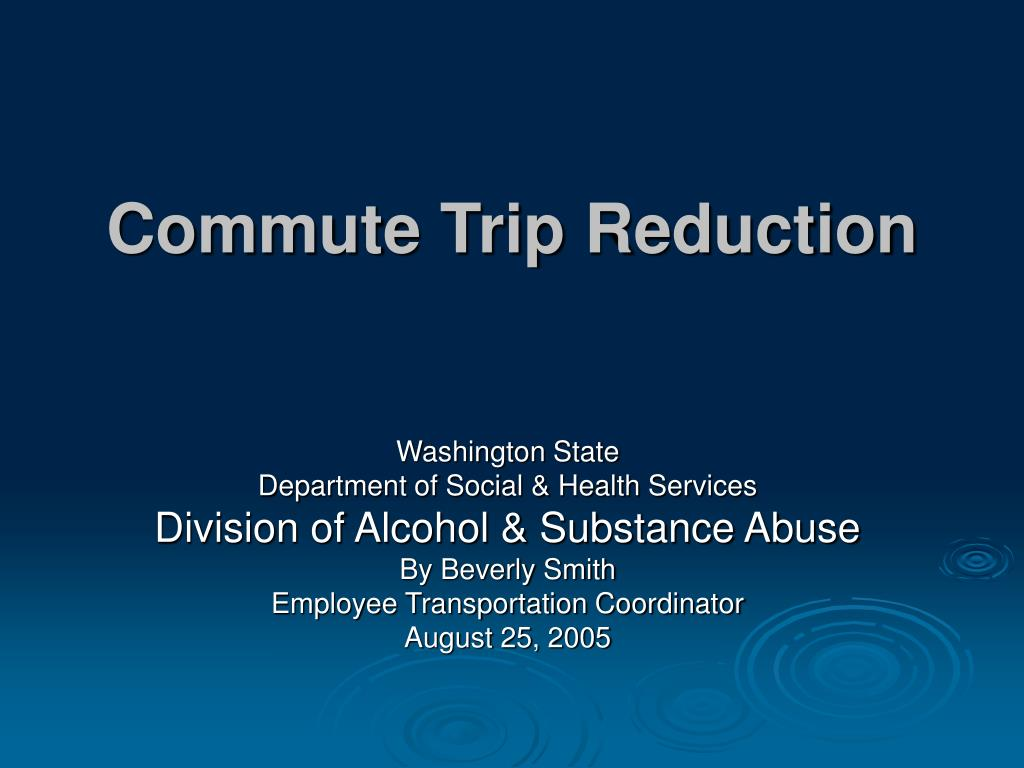 commute trip reduction l.