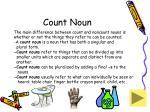 count noun