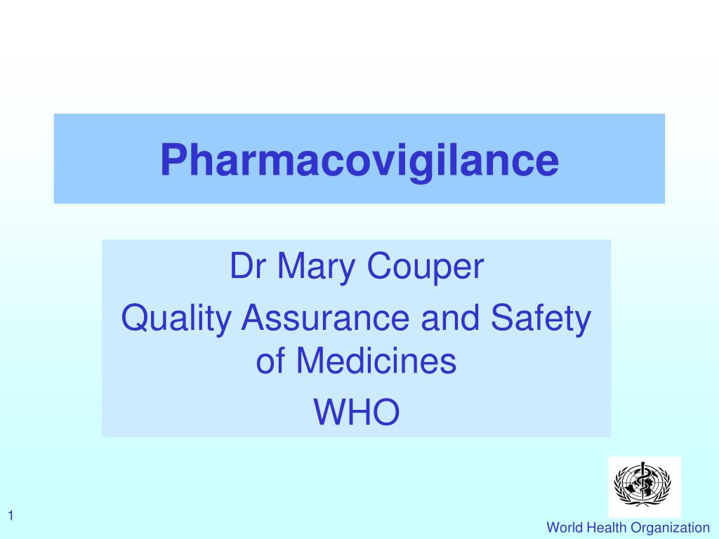 pharmacovigilance l.