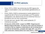 el ipcc advierte