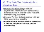 5 why book tax conformity is a misguided idea
