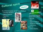 cultural spirit