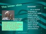 the inner idea