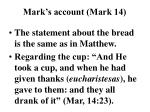 mark s account mark 14