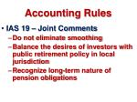 accounting rules46