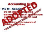accounting rules47