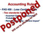 accounting rules52