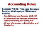 accounting rules53
