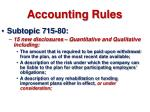 accounting rules54