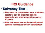 irs guidance
