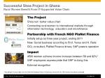 successful shea project in ghana rural women benefit from it supported value chain