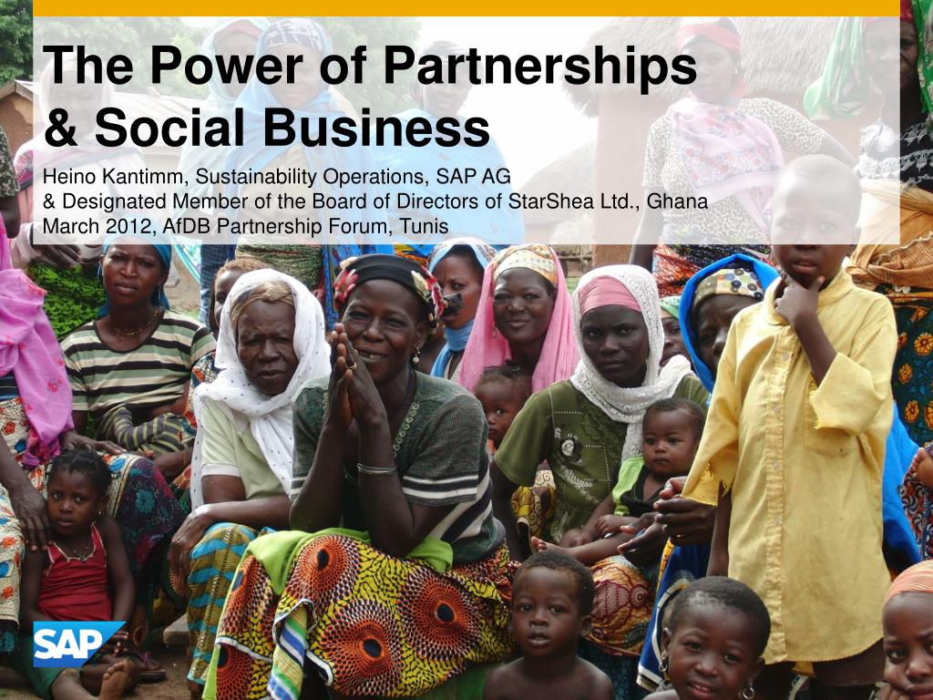 the power of partnerships social business l.