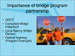 importance of bridge program partnership