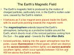 the earth s magnetic field