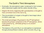 the earth s third atmosphere