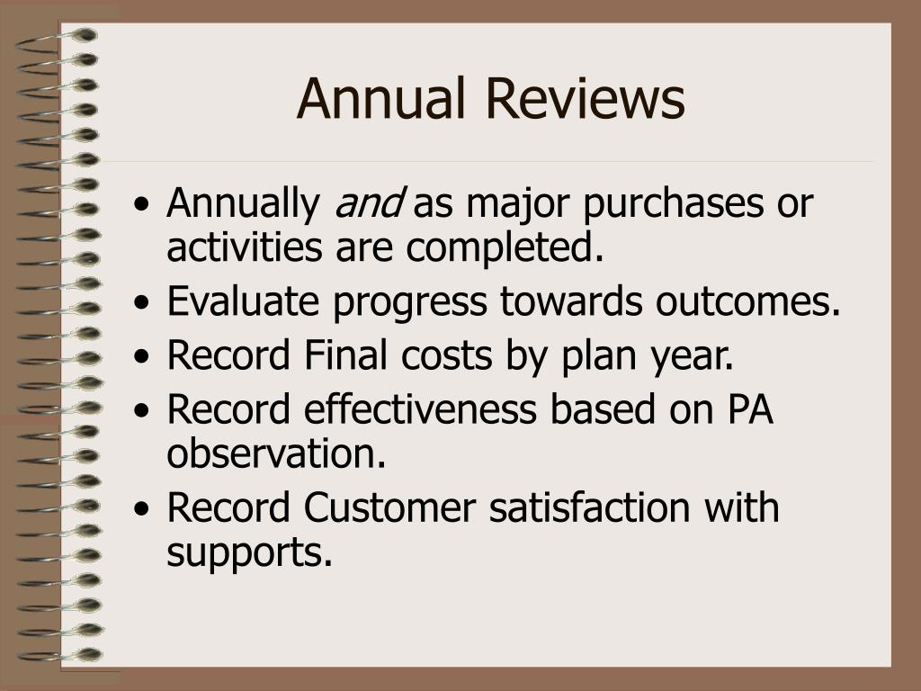 Annual Reviews