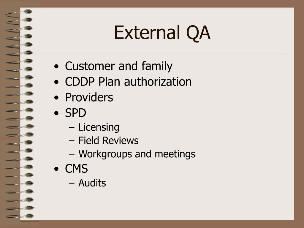 External QA