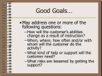 good goals22