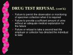 drug test refusal cont d76