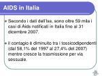 aids in italia