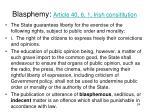 blasphemy article 40 6 1 irish consititution