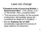 laws can change