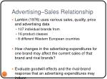 advertising sales relationship
