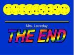 mrs loveday