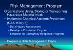 risk management program7