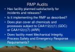 rmp audits