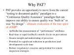 why pat