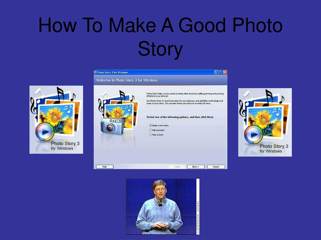 how to make a good photo story l.