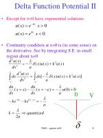 delta function potential ii