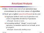 amortized analysis
