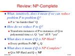 review np complete7