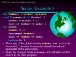 scope example 5