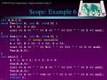 scope example 6