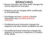 branching67
