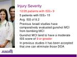 injury severity77
