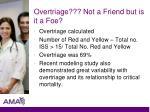 overtriage not a friend but is it a foe