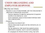union organizing and employer response