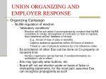 union organizing and employer response16
