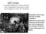 1877 strike