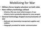 mobilizing for war