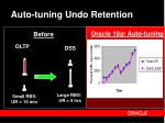 auto tuning undo retention
