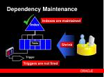 dependency maintenance