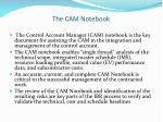 the cam notebook