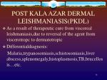post kala azar dermal leishmaniasis pkdl
