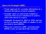 query by example qbe